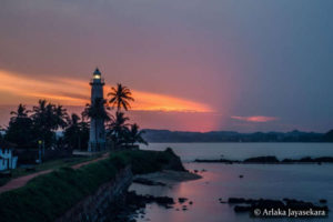Galle - Sunrise at Lighthouse