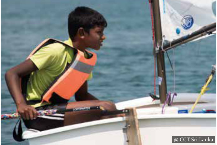 Sailing Lessons - Sri Lanka