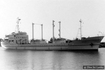 Cargo Wreck - Scuba Dive Site - Colombo