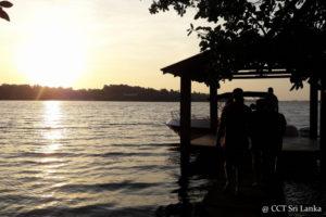 Lake Fishing in Bolgoda Lake Sri Lanka