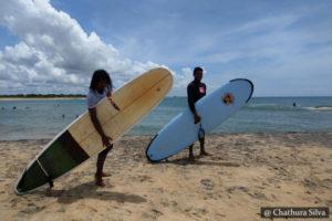 Surfing Panama Sri Lanka
