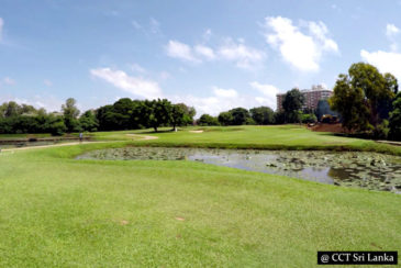 Golfing in Colombo