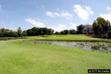 Golfing in Colombo