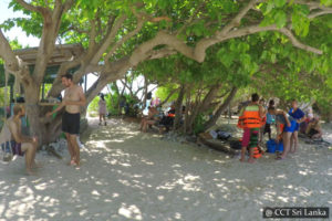 Snorkelling in Pigeon Island