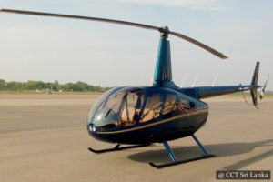 Helicopter tours Sri Lanka