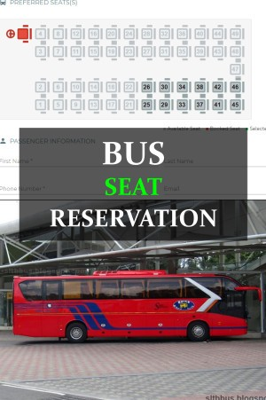Bus seat reservation Sri Lanka