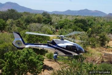 Domestic helicopters Sri Lanka