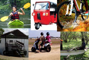 Reserve your Cycle, Kayak, Tuk Tuk, Catamaran & more ...