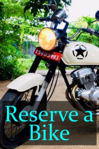 Reserve a Bike Sri Lanka