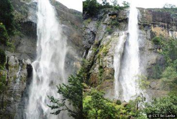 Trek to the top of Diyaluma waterfall